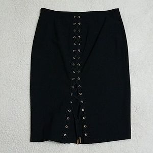 Victoria Secret Black Pencil Skirt